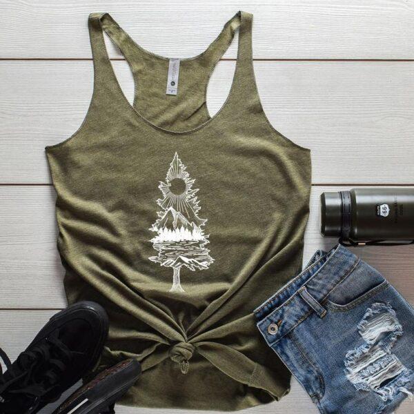 Nature Tree Adventure Tank Top