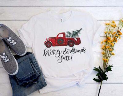 Amazing Y'all! Merry Christmas Shirt From bestdealstshirt.com