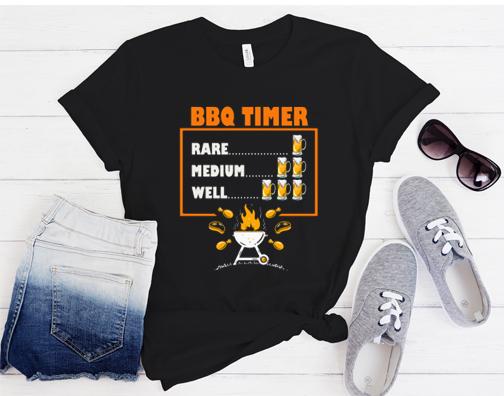 BBQ Beer Timer T-Shirt