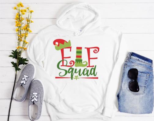 Elf Squad Design Hoodie