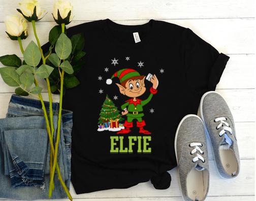 Elfie Selfie Funny T Shirt