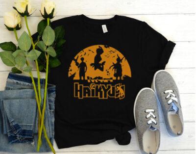 Haikyuu black t-shirt