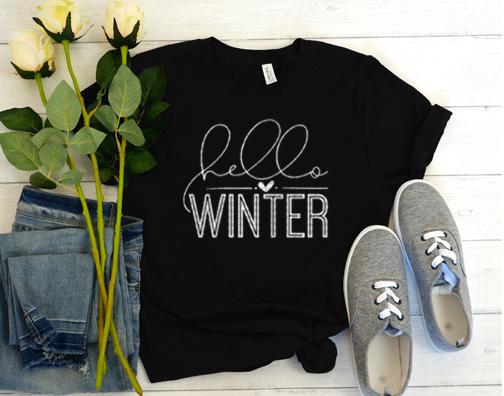 Hello Winter T Shirt