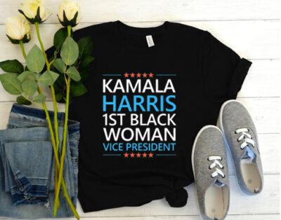 Kamala Harris 1st Black Woman Vice President 2020 T Shirt