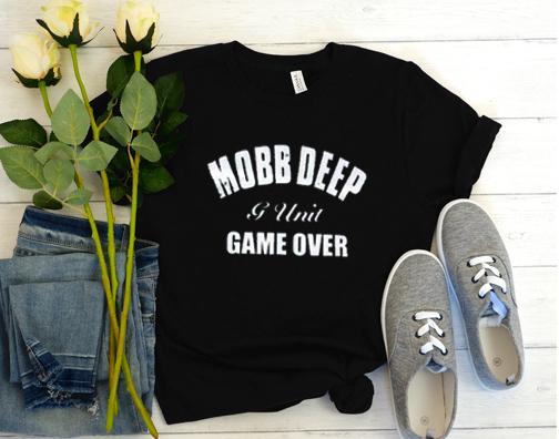 Mobb Deep G-Unit Game Over Black Logo T Shirt