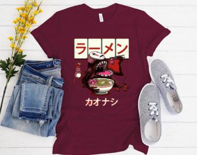 Ramen Kaonashi Spirited Away T Shirt