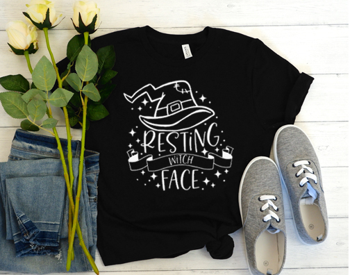 Resting Witch Face Halloween Classic T-Shirt