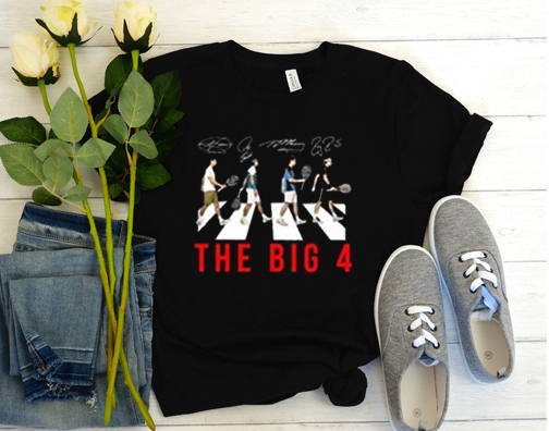 The Big 4 Four Famous Top Tennis Players T-Shirt