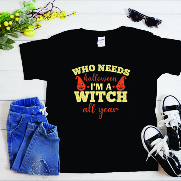 Witch All Year Gift T-Shirt