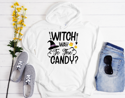 Witch Way To The Candy Hoodie