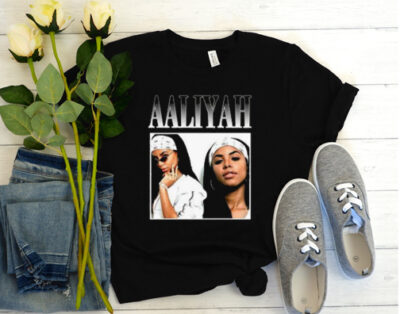 aaliyah princes r&b t shirt