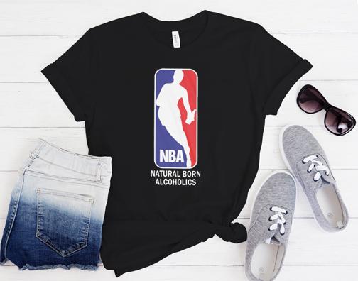 Funny Nba Logo matching T Shirt