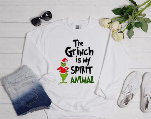 The Grinch Is My Spirit Animal Sweatshirt