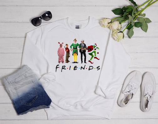 Friends Christmas Sweatshirt
