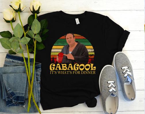 Official Gabagool It's What's For Dinner Vintage Retro T Shirt