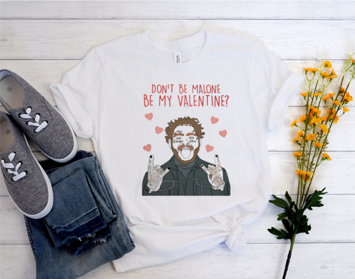 Valentine's day post malone T Shirt