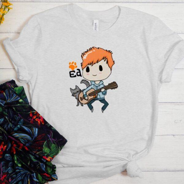 Ed Sheeran cartoon t Shirt