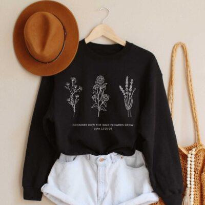Flower Sweatshirt
