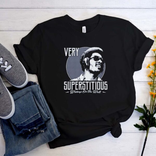 STEVIE WONDER SUPERSTITIOUS WRITINGS ON THE WALL T SHirt