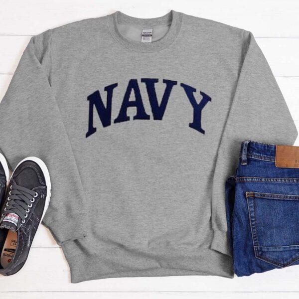 Scandal Fit NAVY Grey Sweatshirt