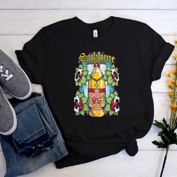 Sublime Long Beach Sun Bottle T-Shirt