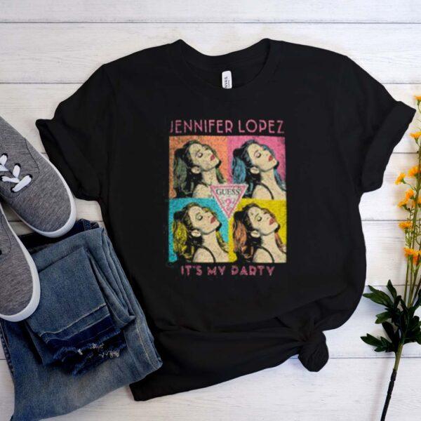 The Jennifer Lopez x Guess concert merch is timeless T-Shirt