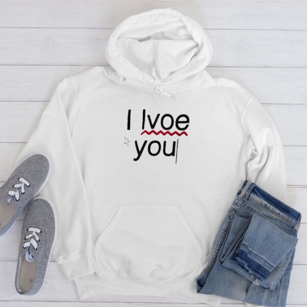 I Lvoe You Unisex Graphic Hoodie