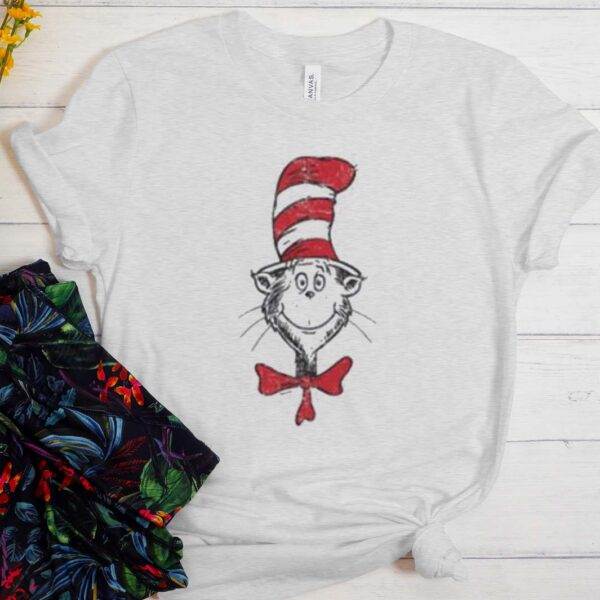 The Cat in the Hat Head T Shirt