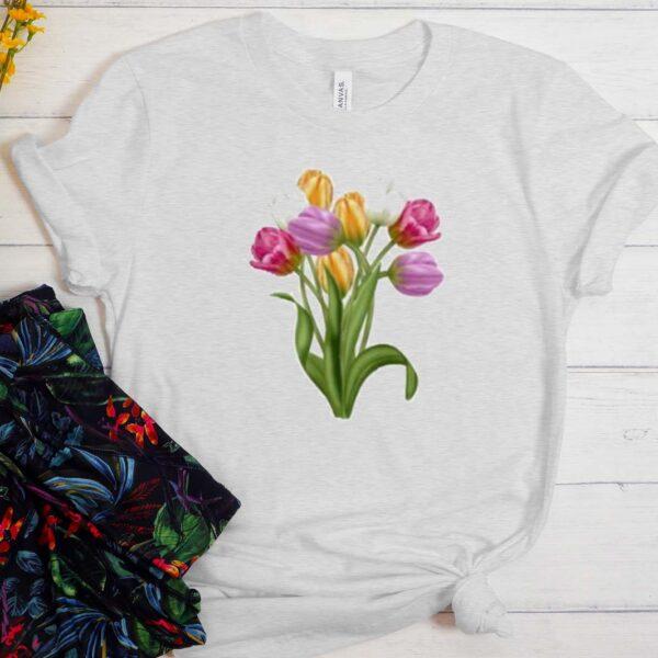 Tulip Flower T Shirt