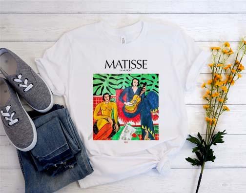 Matisse Painting T shirt