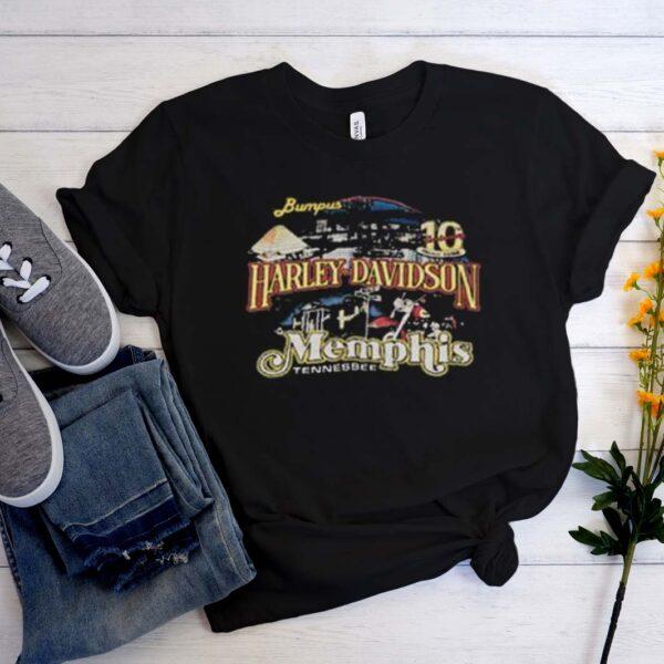 Vintage 90s Harley Davidson Memphis T Shirt