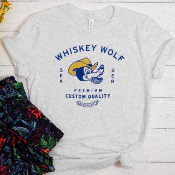 Whiskey Wolf T Shirt