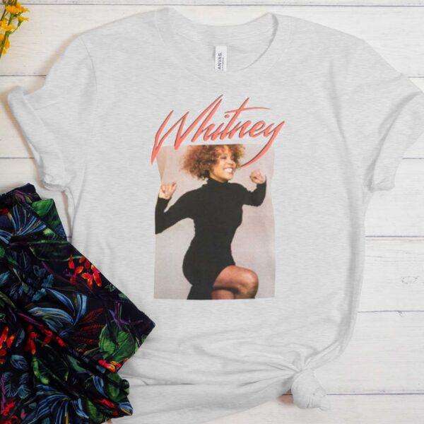 Whitney Houston Runway T shirt