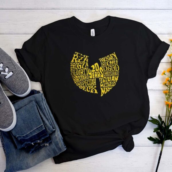 Wu-Tang 20 Years Anniversary T-shirt