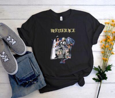BEETLEJUICE Black T-Shirt