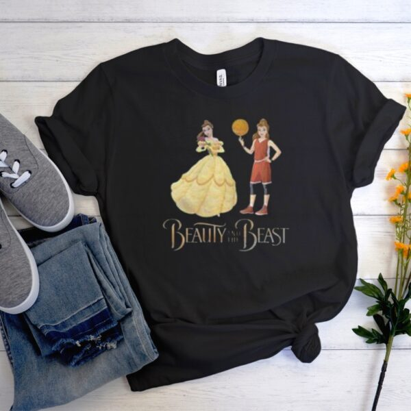 Beauty And The Beast Belle Basketball Men Women GraphicT-Shirt