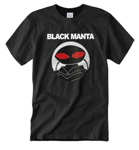 Black Manta Unisex Funny Graphic Shirts