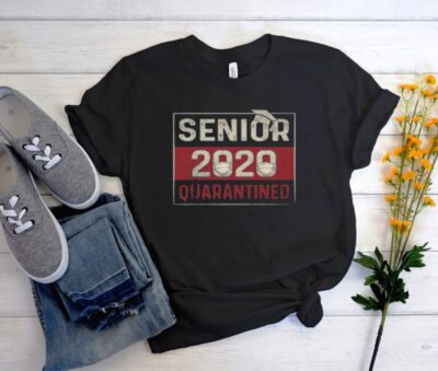 Class Of 2020 Quarantine Senior 2020 Quarantined T Shirt