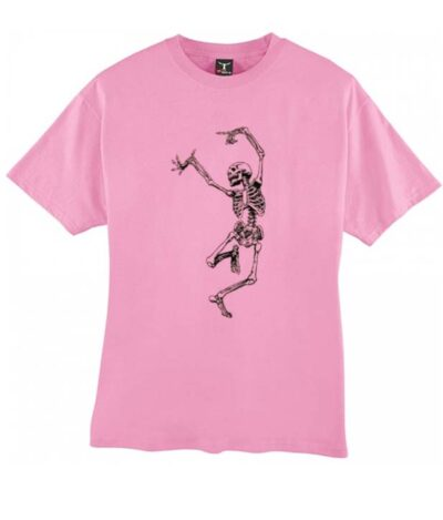 Funny Dancing Skeleton Skull Matching T-shirt