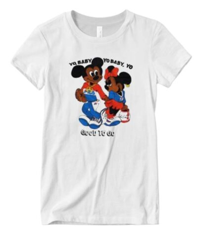 Mickey Minnie Yo Baby Yo Baby Good To Go Vintage Matching T-shirt