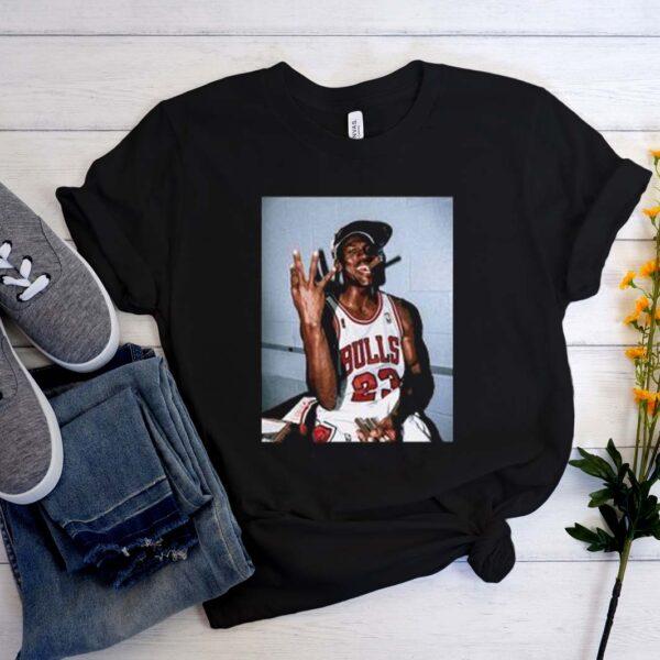 Vintage Michael Jordan Three-Peat Most Trending T-Shirt