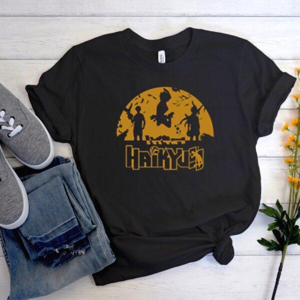 Haikyuu black smooth t-shirt
