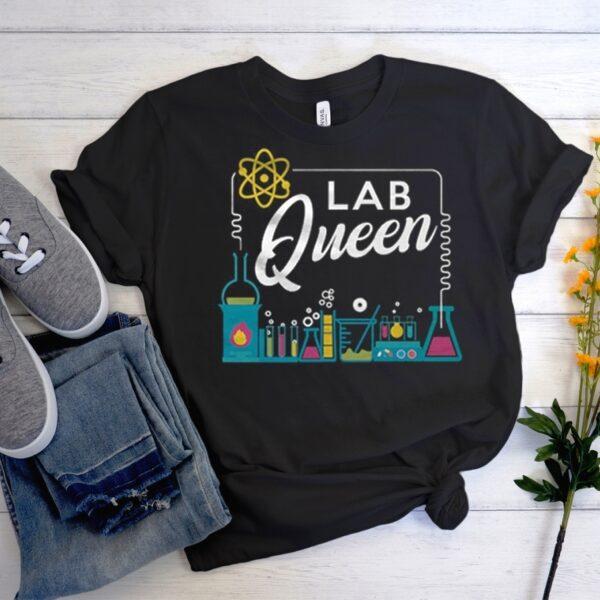 Lab Queen Matching T Shirt